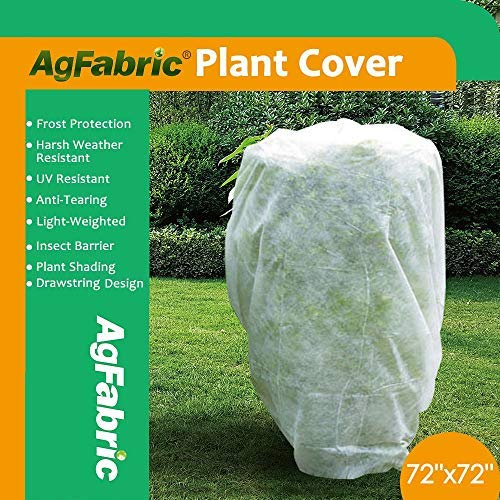 Agfabric Warm Worth Tree/shrub cover, Protecting bag for frost protection,1.5oz (84x72)