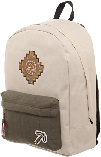 Minecraft Backpack Beige Explorer Bag