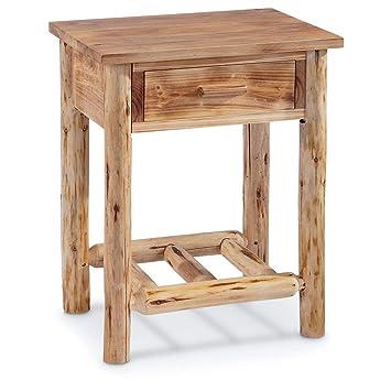 Incredible Castlecreek Log End Table Alphanode Cool Chair Designs And Ideas Alphanodeonline