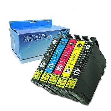 29 xl Compatible con impresora de tinta de repuesto para EPSON 29 xl 29 , trabajo con Epson Expression Home XP-235 XP-335 XP-432 xp-442 xp-342 xp-245 ...