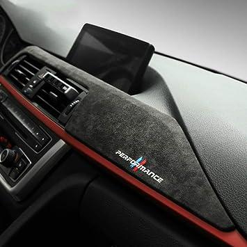 Alcantara Car Dashboard Abs Cover Interior Sticker Car Decoration For Bmw F30 F31 F32 F34 F36 3gt 3 4 Series Accessories Amazon De Auto