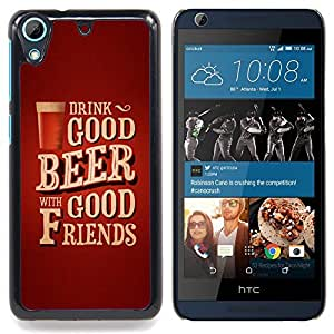 - Drink Beer Friends Brown Poster Text - - Monedero pared Design Premium cuero del tir???¡¯???€????€???????????&