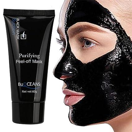 Máscara de eliminación de puntos negros, máscara de carbón activado para limpieza profunda, máscara