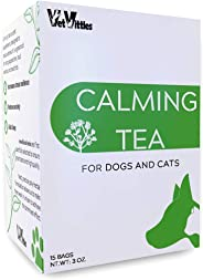 VetVittles Calming Tea- Herbal Supplement for Dogs and Cats