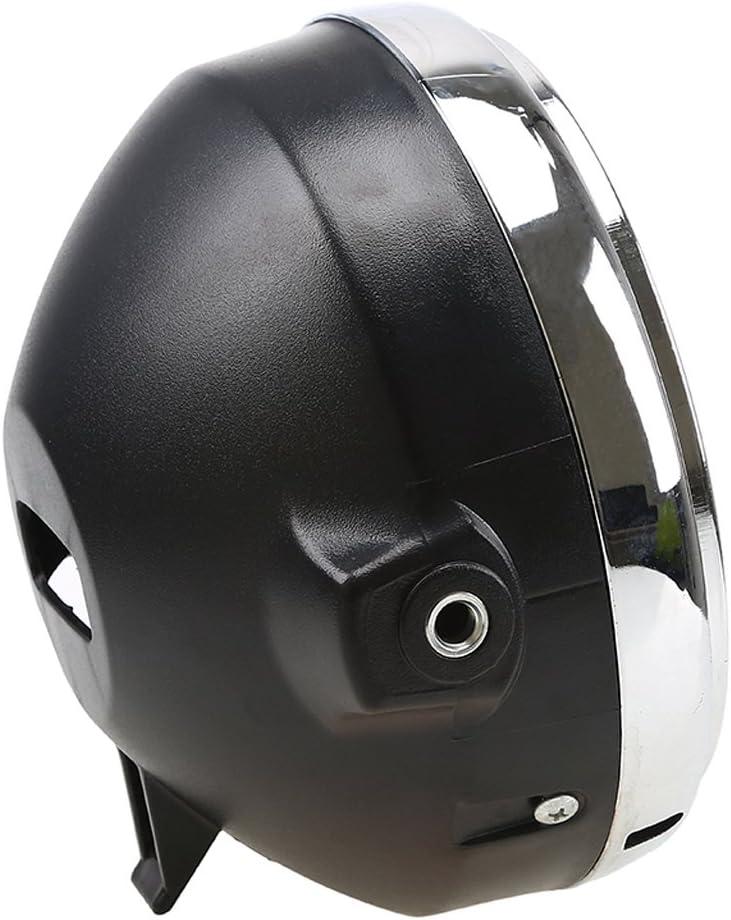 Almencla Lampes de T/ête Ronde 12 V LED Phare R/éam/énagement Moto pour Hornet 600