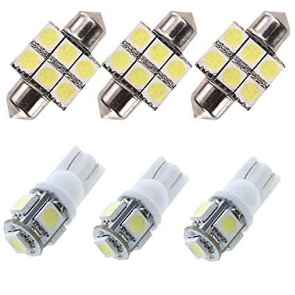 Amazon.com: For Toyota Rav4 Led Interior Lights Led Interior Car Lights Bulbs Kit White 6pcs 2007-2018: Car Electronics