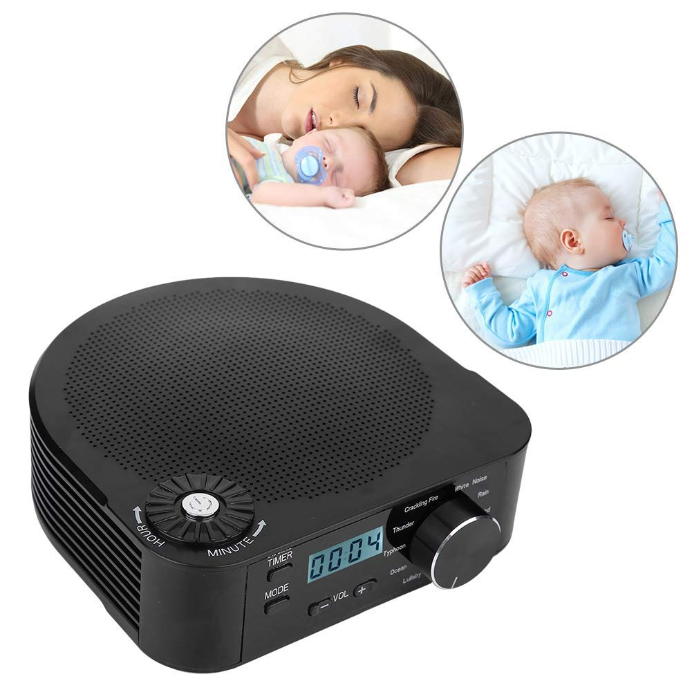 Starsmyy White Noise Machine Machine with 10 Soothing Sounds Memory Function with 3 Timer Settings for Baby, Office and Travel,S1 by Starsmyy