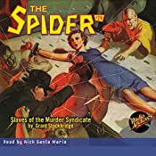 Slaves of the Murder Syndicate: The Spider #29 | Grant Stockbridge