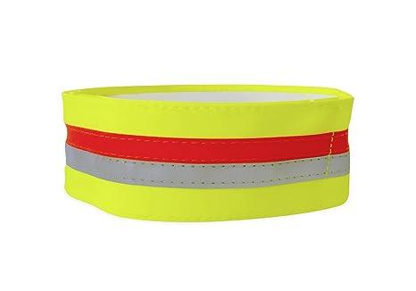 Tractive TRASI1 Banda para Collar reflectante con Bolsillo para GPS, Pequeño (34-41cm