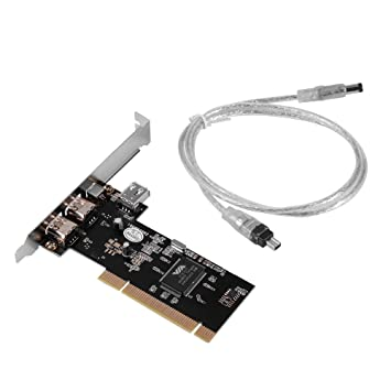 XCSOURCE® 4 Puertos PCI Firewire Adaptador de la Tarjeta 1394 1394-3 Externa 1 Interna AC534
