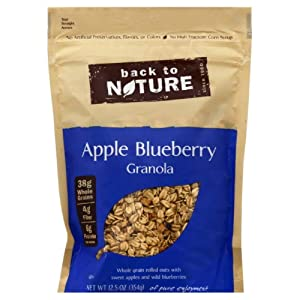 Back To Nature Granola Apple Blubrry