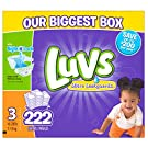 Luvs Ultra Leakguards Diapers Size 3, 222 Count