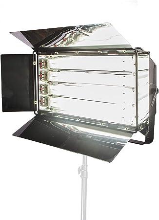 Kit Eclairage Vidéo Photo Studio 5400K CRI95 + Panneau de Lumière avec 4 x  Tube Fluorescent 55W: Amazon.fr: Photo & Caméscopes