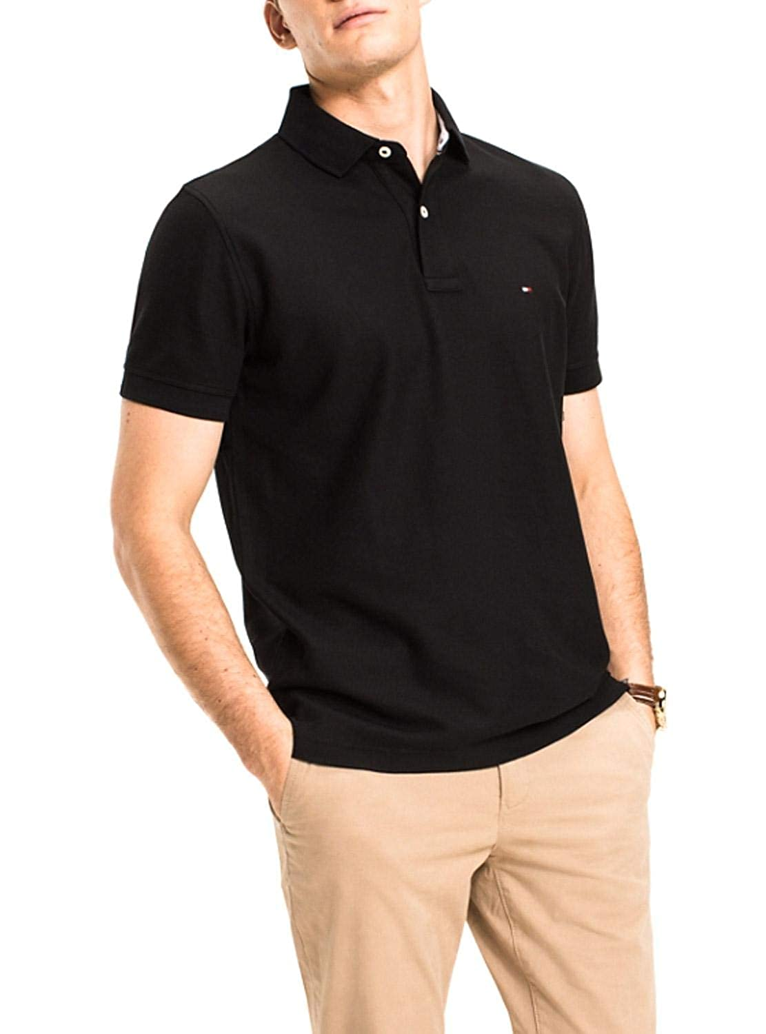 Tommy Hilfiger Core Hilfiger Regular Polo Hombre: Amazon.es: Ropa ...