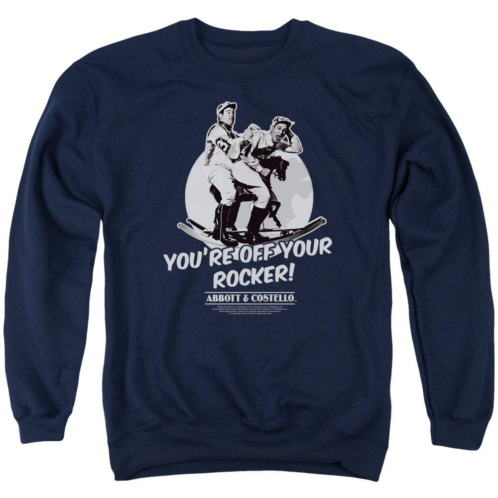 Abbott /& Costello Mens Off Your Rocker Sweater