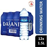 Dasani Drinking Water, 1.5L (Pack of 12)