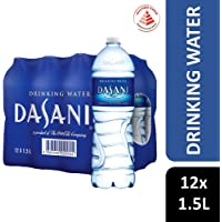 Dasani Drinking Water, 1.5L, (Pack of 12)
