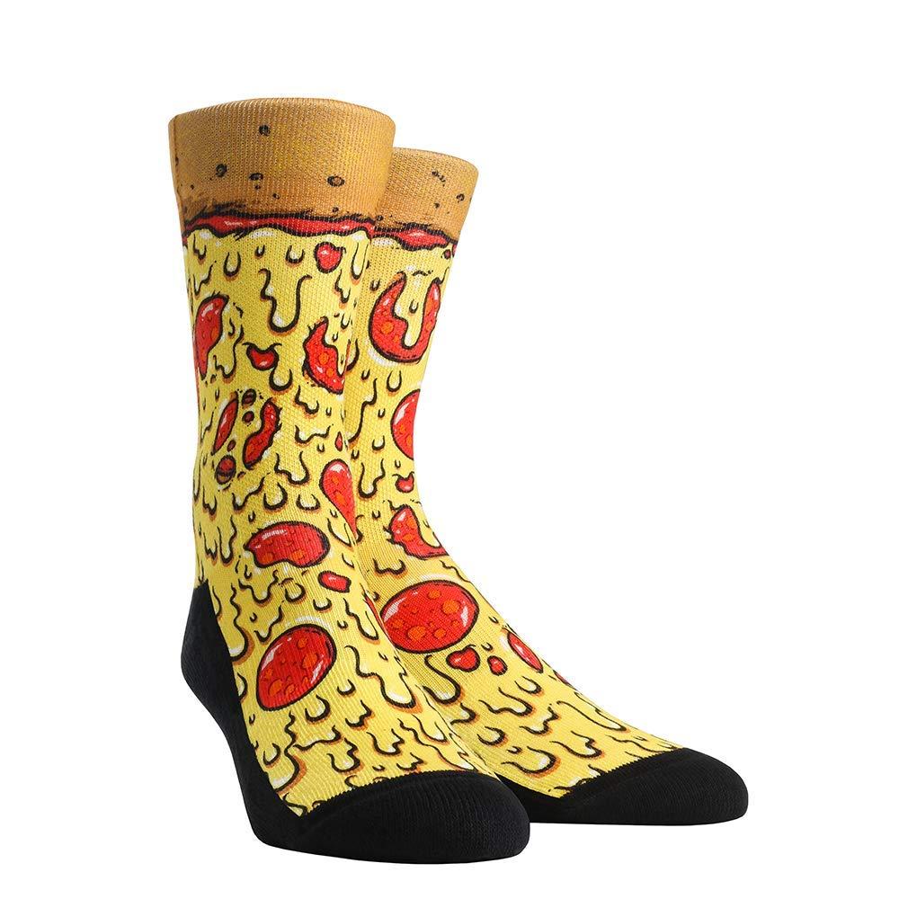 Food Buffet Rock 'Em Socks (Men's, Pizza) by Rock 'Em Socks