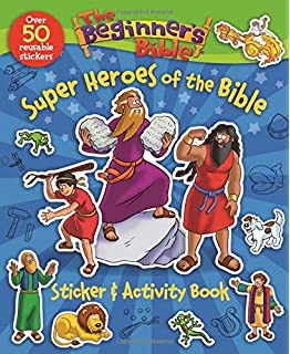 The Beginner\'s Bible All About Jesus Sticker and Activity Book ...