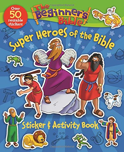 Beginners Bible Heroes Sticker Activity product image
