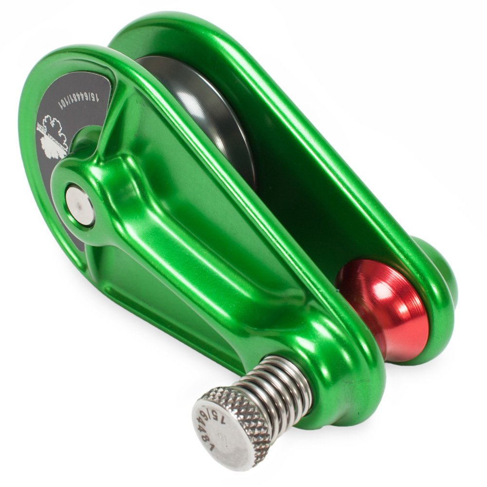 Pulley Block for 1/2'' Rope- Green in color