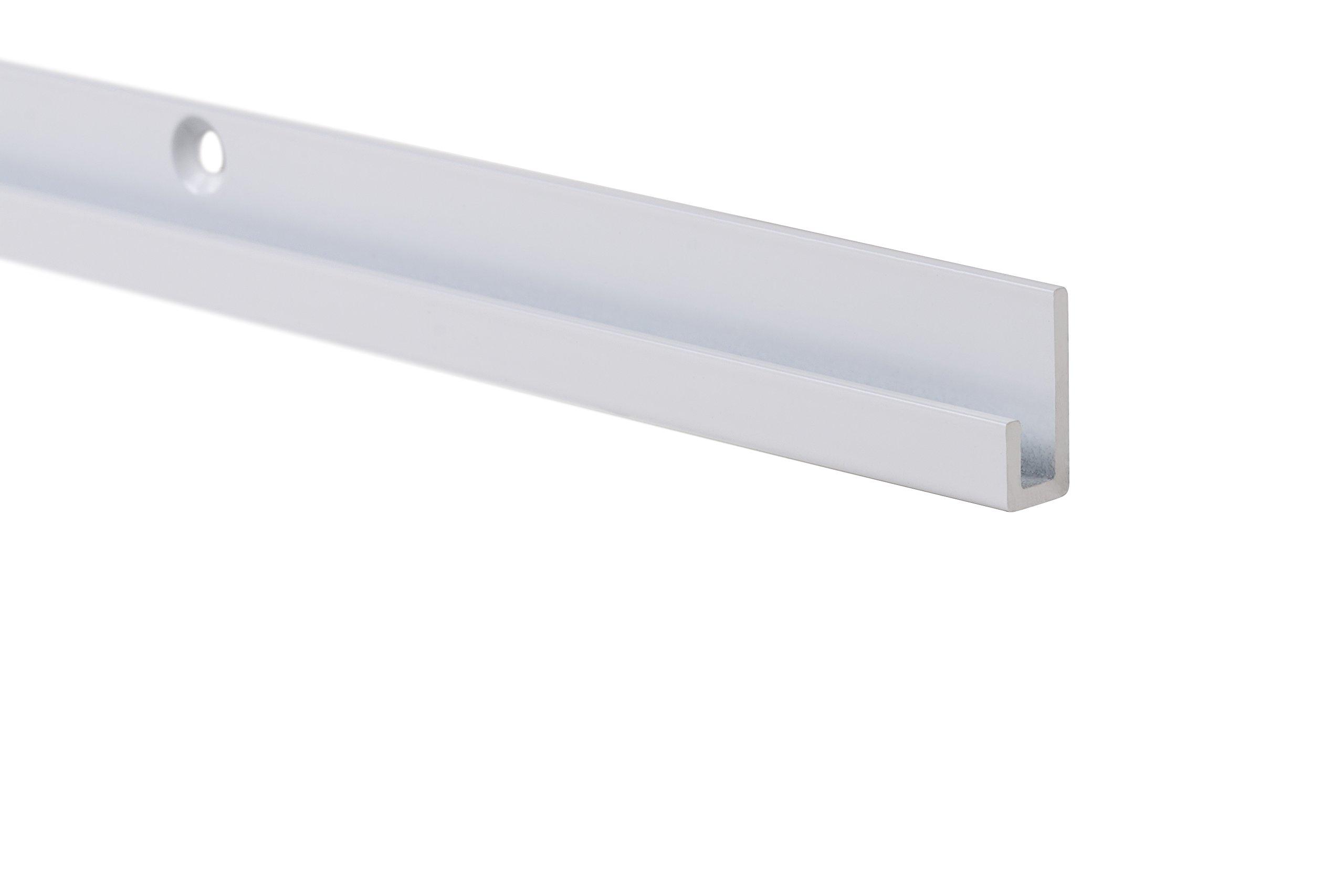 STAS j-rail max alu 200cm 78.75 inch + installation kit