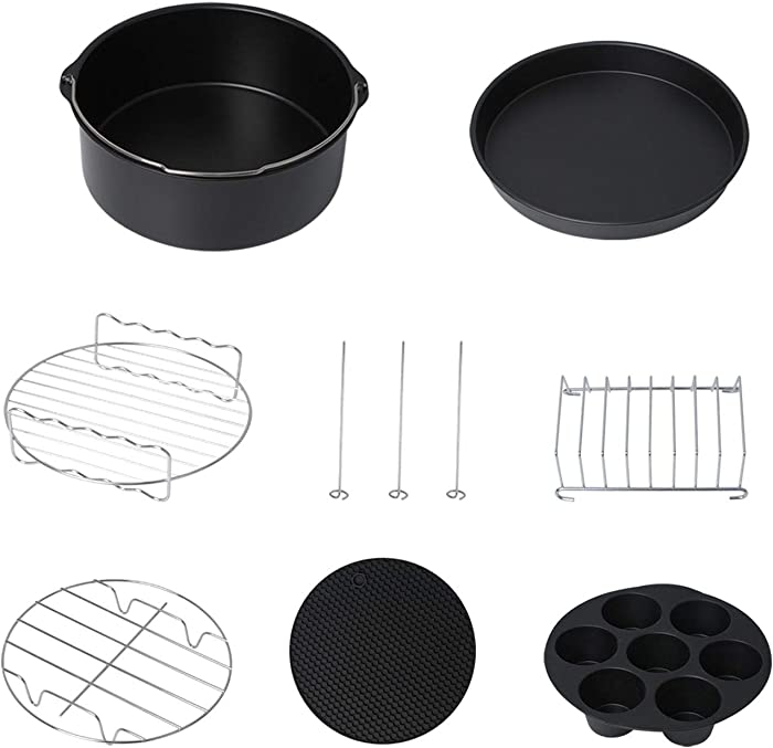 Updated 2021 – Top 10 Silicone Cake Pan Mold For Air Fryer