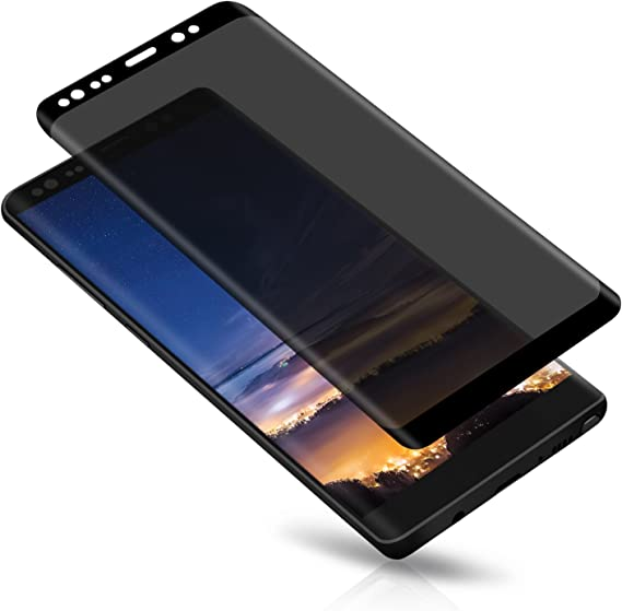 fast-shop Privacy Anti-Spy Tempered Glass Screen Protector For Samsung Galaxy S8 Black Useful and Practical