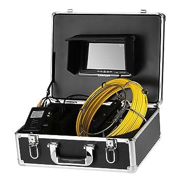 Lixada Cámara de Tubería con Cable, Alcantarillado a Prueba de Agua Sistema de Inspección de