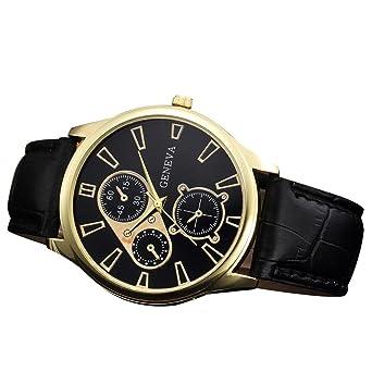 740cc1b1091df AIMEE7 Montre Homme Pas Cher, Militaire Sport Analogique Quartz Alliage  Montre d'affaires Watch Mode Décontracté Élégant Vintage Cuir Montres  Bracelet (A): ...