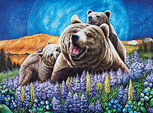 Bear Jigsaw - LaFayette Puzzle Factory Blueberry Bears Jigsaw Puzzle