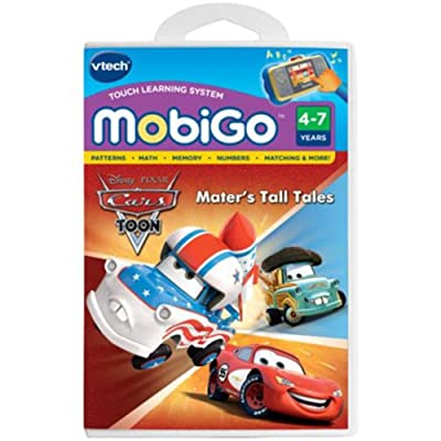 VTech - MobiGo Software - Disney's Cars - Mater's Tall Tales: Toys & Games