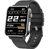 EKG Damskie Mężczyźni Smart Watch SmartWatch Android IOS IP68 Zegarek E80 Temperatura tlen Sphygmomanometer Sports…