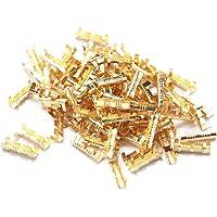 Spade Quick Skarva Crimp Terminaler 0,5-1,5 mm Mässing Dockningskontakt Linje Pressning Knapp Snabb Ledningar Terminaler…