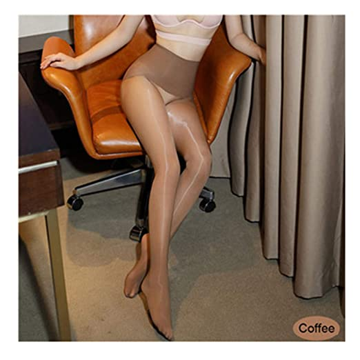 3e7a00fcdc0d2 Image Unavailable. Image not available for. Color: Smoothly Magic Traceless Pantyhose  Shiny Than Oil Glossy Ultrathin Seamless Crotch Tights