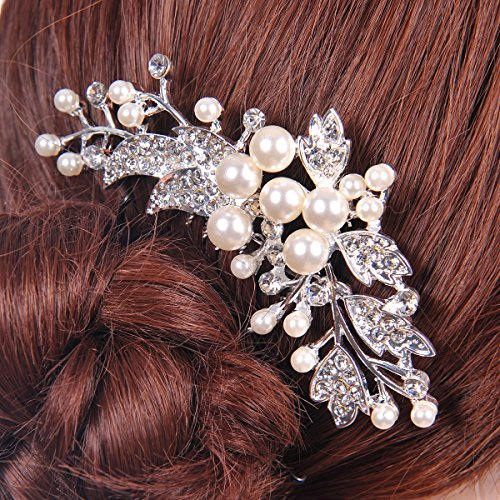 Remedios Crystal Hair Comb Wedding Hairpiece Bride