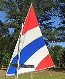 Sail for Sunfish Sailboat with (30) Sail Rings