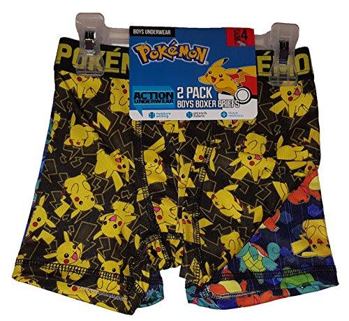 Pokemon Boys' 2pk Boxer Briefs (xs 4, purple)]()