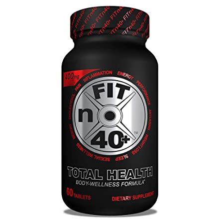 FITn40 Plus – Total Health – Body Wellness Formula – 60 Tablets 1 Month Supply
