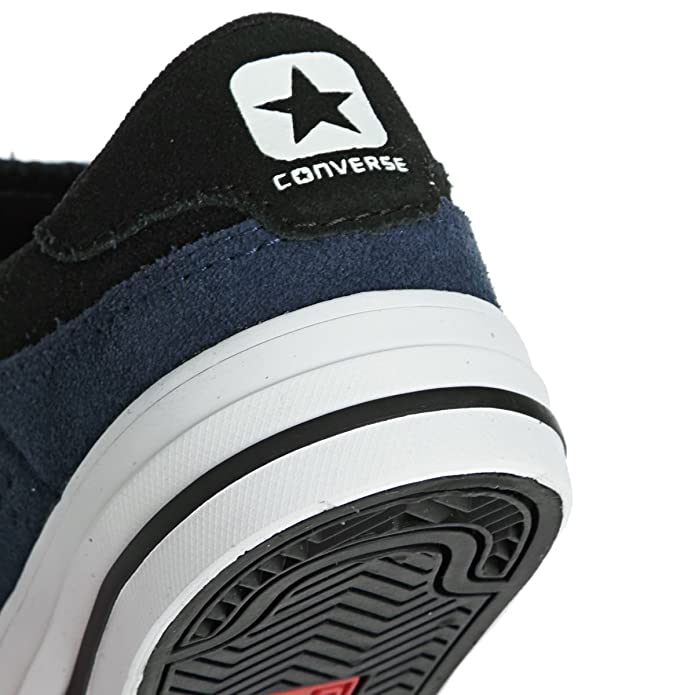 Converse Jungen, Mädchen Sneaker CONS Tre Star Leder blau
