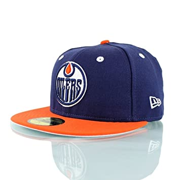 more photos ed533 6ada7 New Era Edmonton Oilers 2-Tone 59FIFTY Fitted NHL Hat 7 5 8