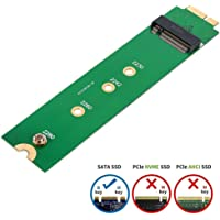 SHINESTAR M.2 NGFF SSD to A1369 A1370 Adapter for 2010 2011 MacBook Air HDD Replacement, Converter Card Support 2230 2242 2260 2280 Solid State Drive