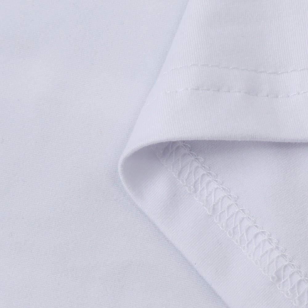 Quinny Mens T Shirt for Men Boy Plus Size Print Tees Short Sleeve Cotton T Shirt Blouse Tops Sweatshirt White S-4XL