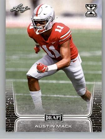 2020 Leaf Draft #19 Austin Mack RC - Ohio State Buckeyes (RC - Rookie Card) NM-MT NFL Football Card