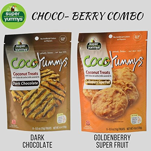 Amazon.com : Coco Yummys - 2 Bags (Choco-Berry Combo) : Grocery & Gourmet Food
