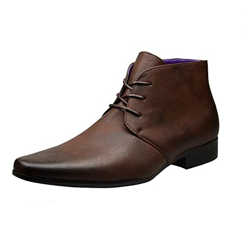 7b75f29003d Mens Designer Suede Smart Formal Wedding Casual Boots Shoes UK SIZE 6 7 8 9  10 11