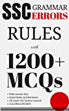 SSC English - Grammar Errors - Notes and 1200+ MCQs (Previous year Questions): SSC CGL/CHSL/LDC/MTS/JE/CPO/GD/Others