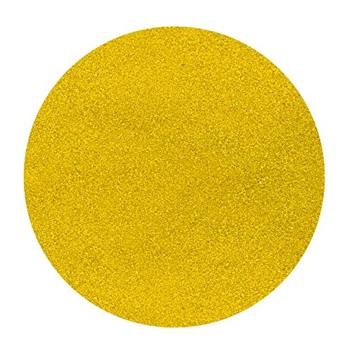 Activa Decorative Colored Sand - 25 Pounds - Bright Yellow ()