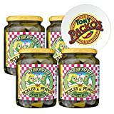 Tony Packo's (4-Pack) Sweet Hot Pickles and Peppers, 24 Ounce - 4 Jars with FREE Jar Opener
