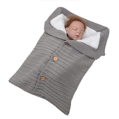 Diadia - Manta para bebé recién Nacido, Tejido de Ganchillo, Manta para bebé ,